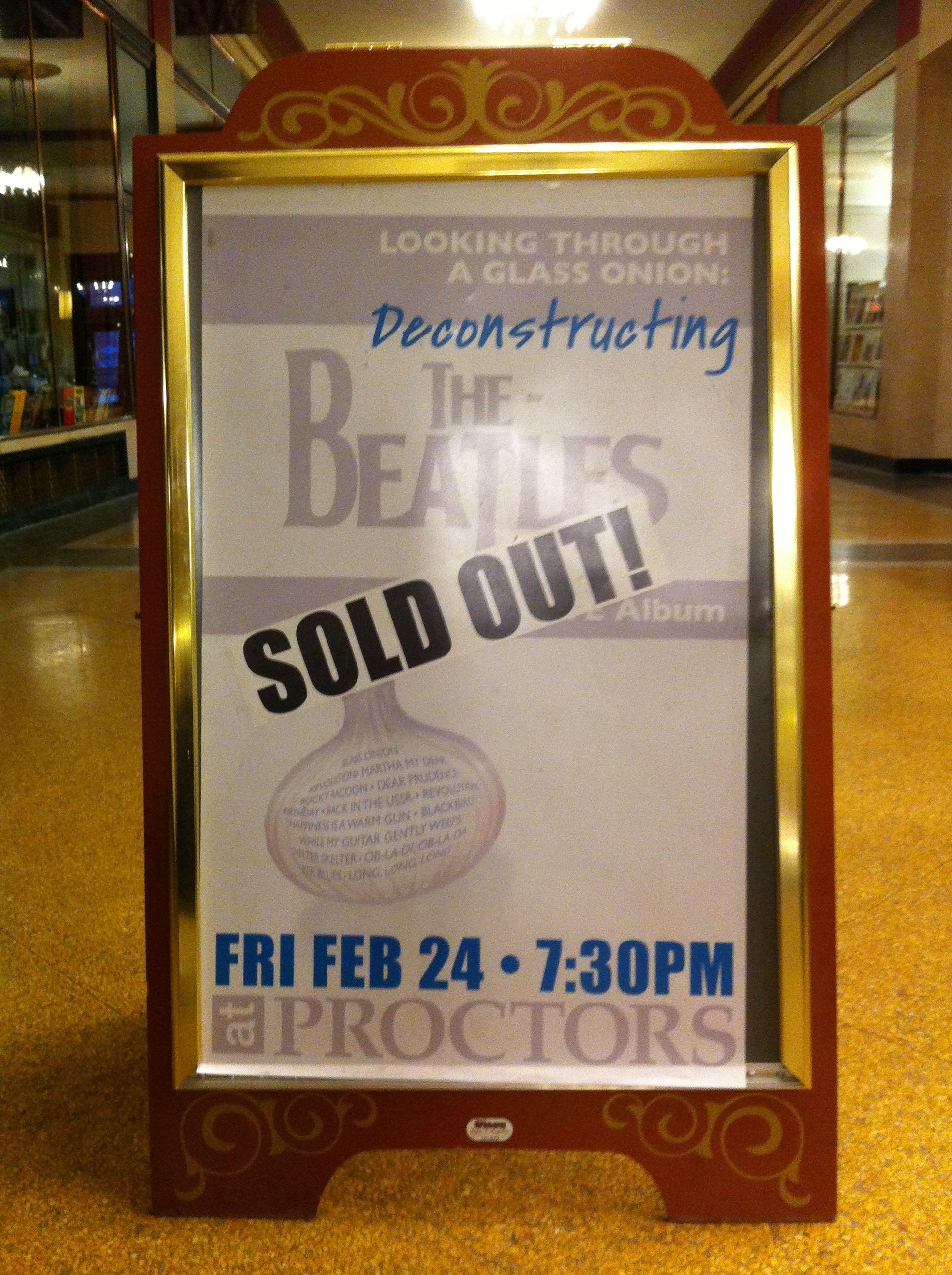 Proctors - Feb., 2012