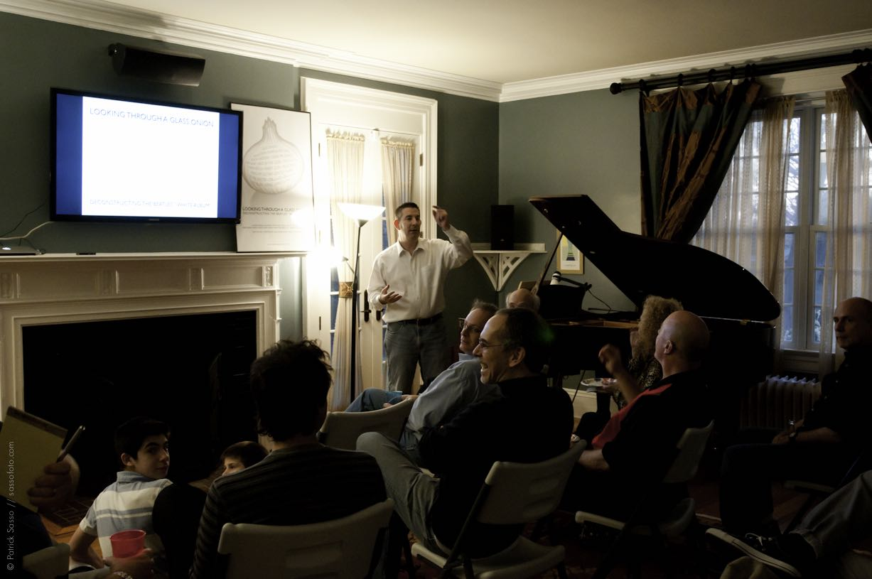 Living Room Lecture - April, 2011