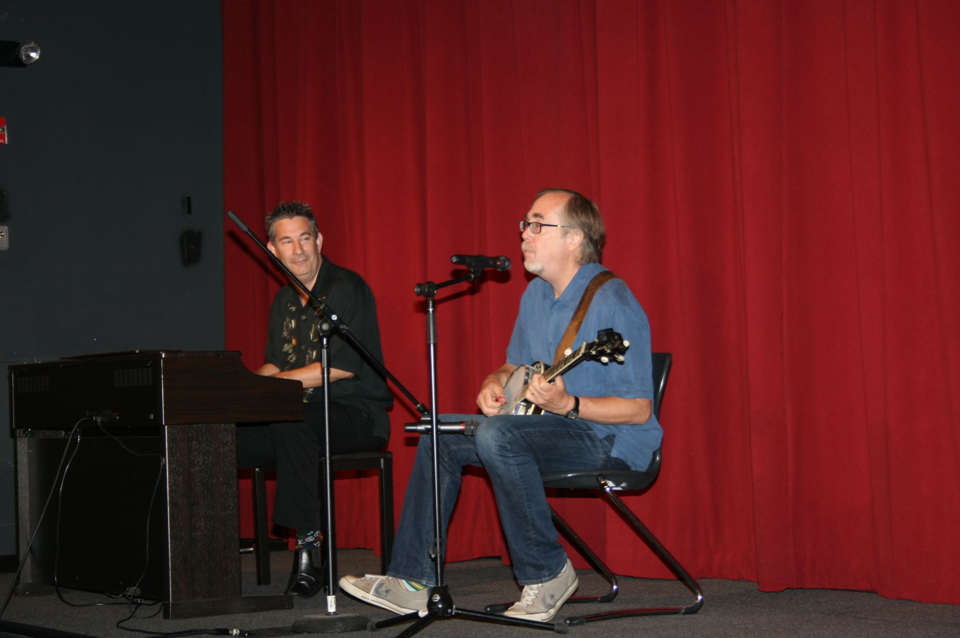 Tony Trischka - Jacob Burns Film Center - July, 2012
