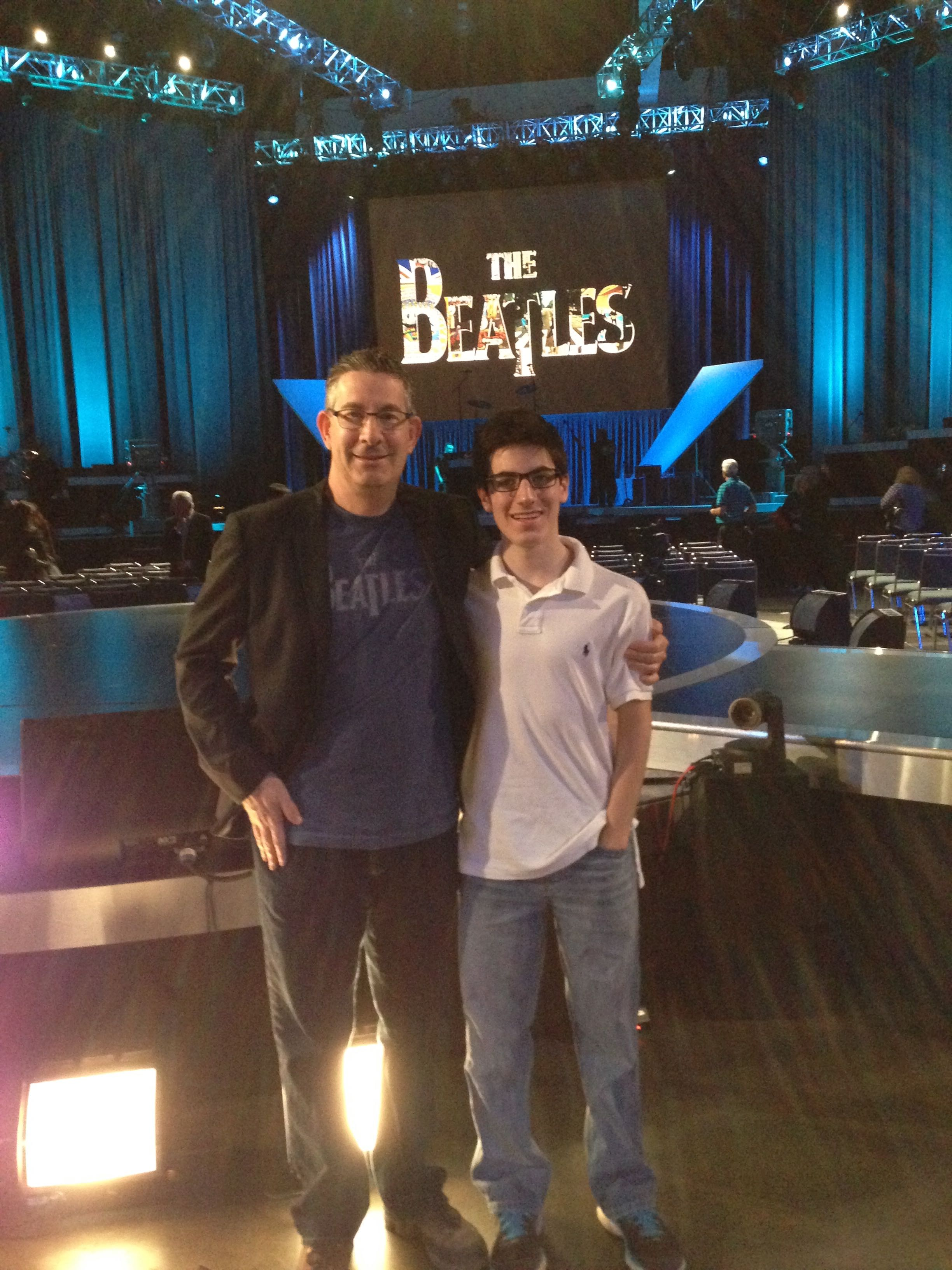 Zack Freiman at Grammy Salute to the Beatles - Jan., 2014