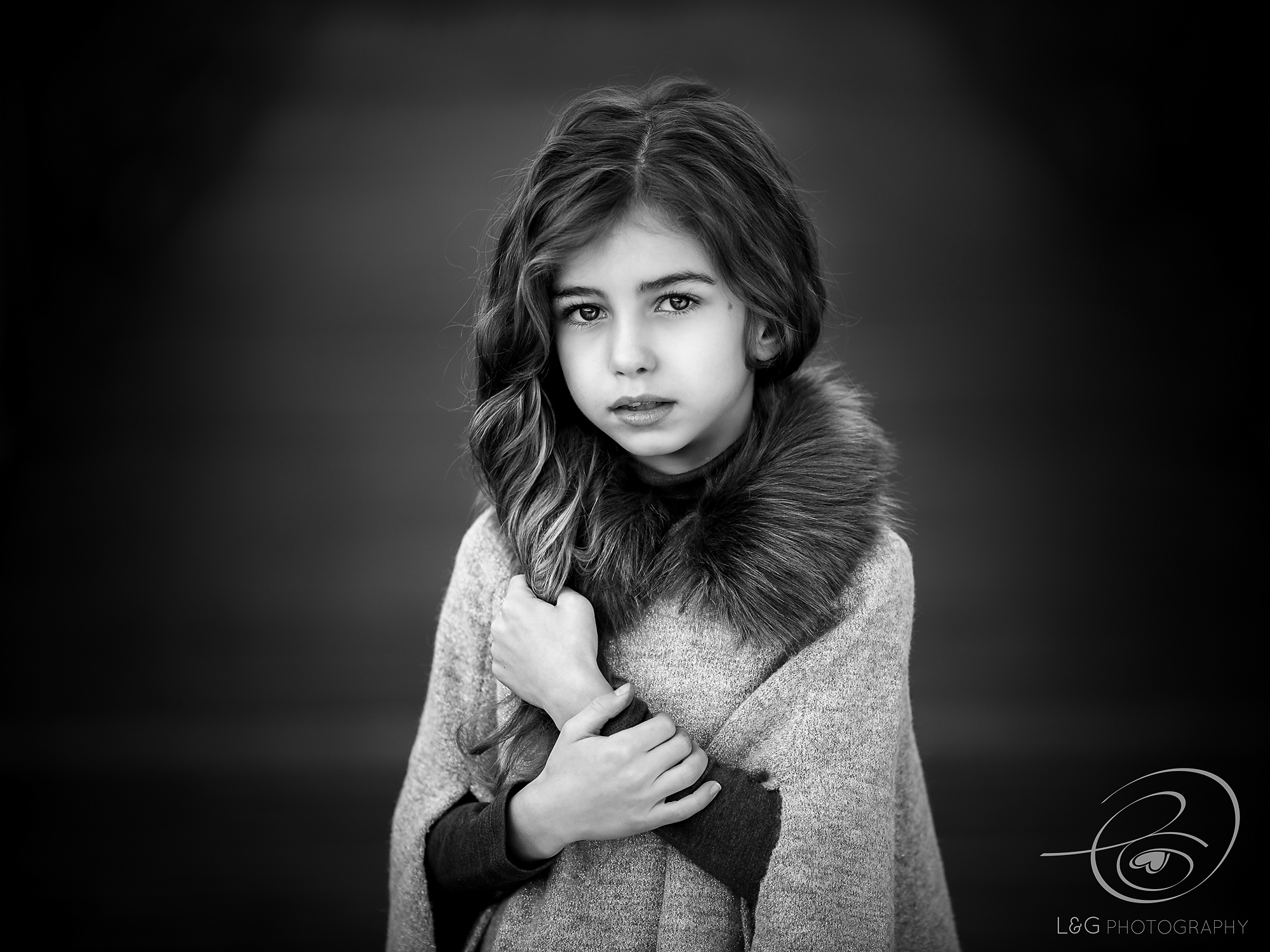 child portrait of girl