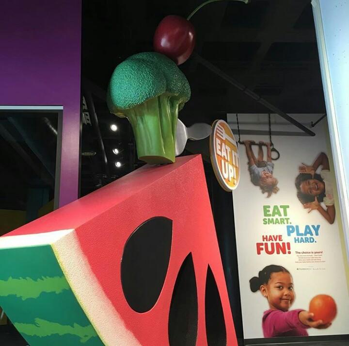 Eat It Up! Exhibit Entrance