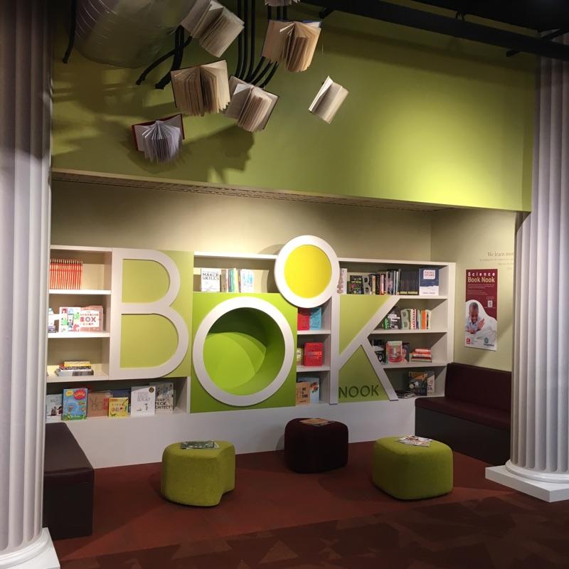 Book Nook Exhibit