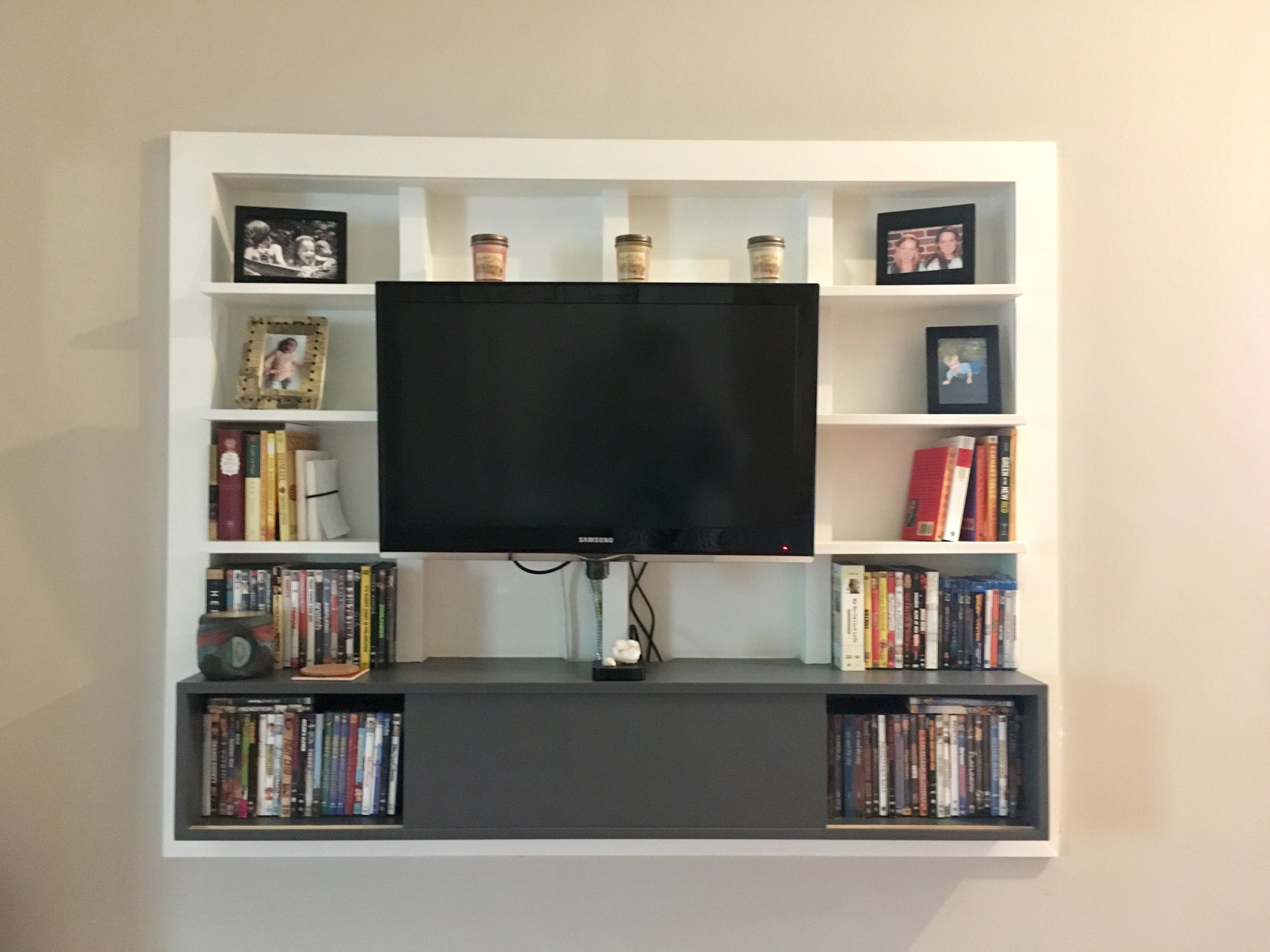 Inlet Entertainment Shelving