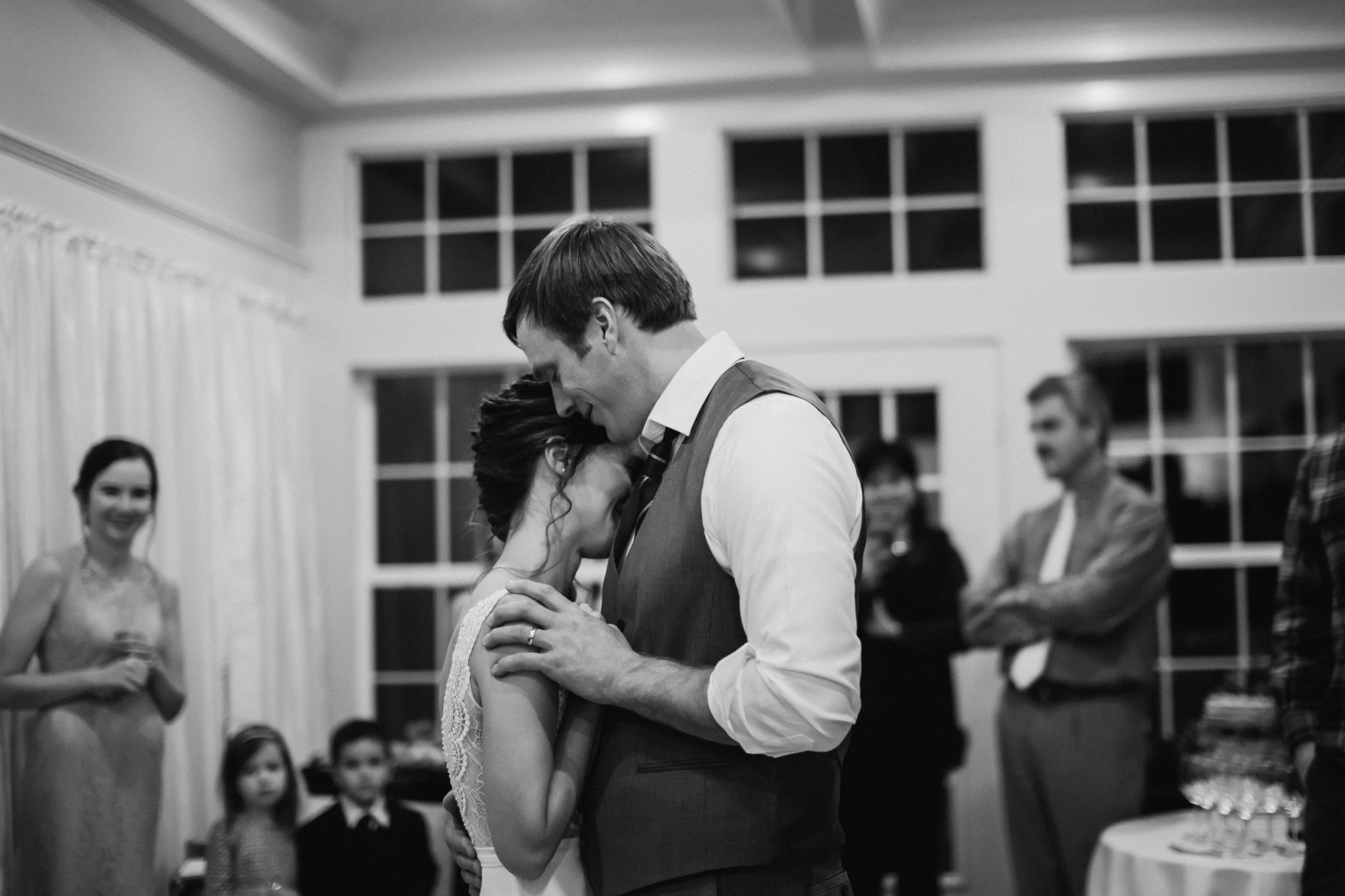 first dance at Jorgenson House