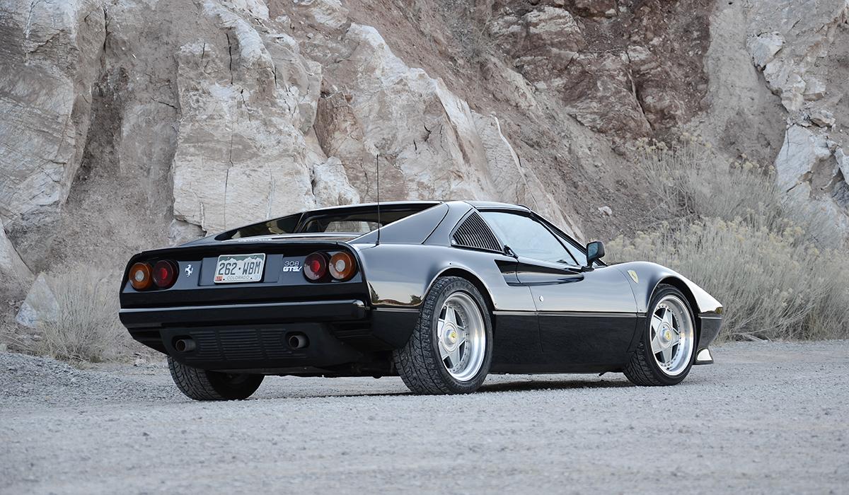 Ferrari 308 GTSi with 3.5,liter Engine by Carobu Engineering