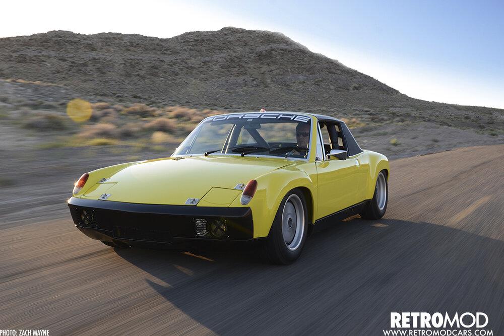 Period Correct Porsche 914 6 Gt Tribute Retromod