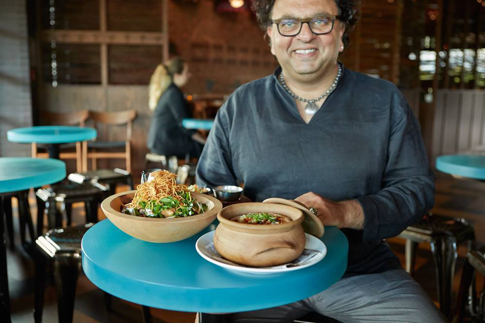 By Vikram Vij and Meeru Dhalwala  Adapted from the recipe created by Vikram Vij and Meeru Dhalwala as featured in the cookbook  Elegant & Inspired Vij's Indian Cuisine.    Photo courtesy of: Tracey Kusiewicz /    Foodie Photography