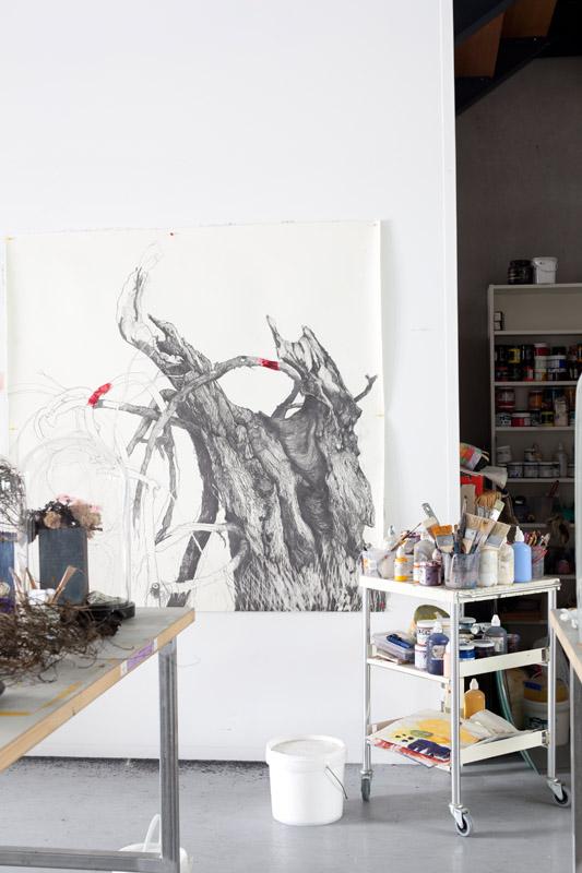 Arcadia,  drawings in progress