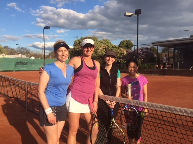 2015 HTC Club Champs - Graded Women's Doubles