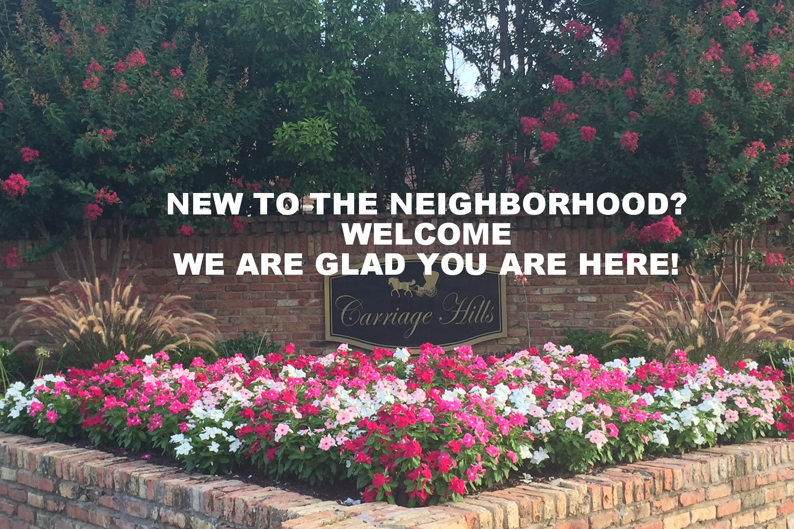 New to the neighborhood?  Click Here to be added to the directory!