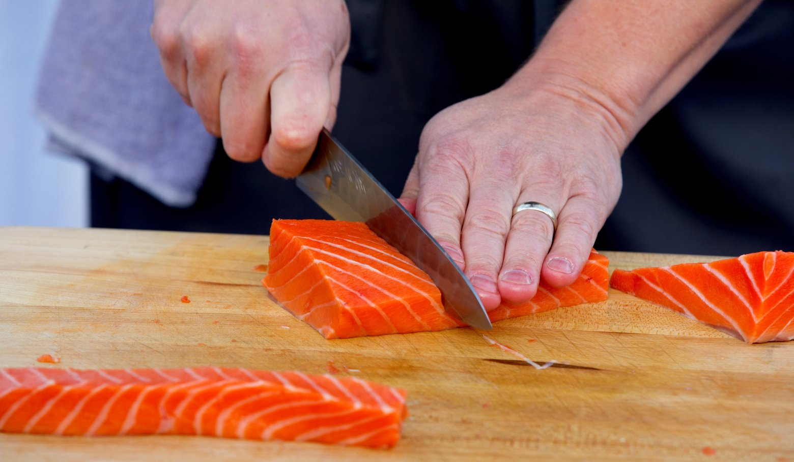How to Save Salmon with a Fork and a Knife by Mark Titus and Tom Douglas -  Op-Ed - The Seattle Times - June 23, 2015