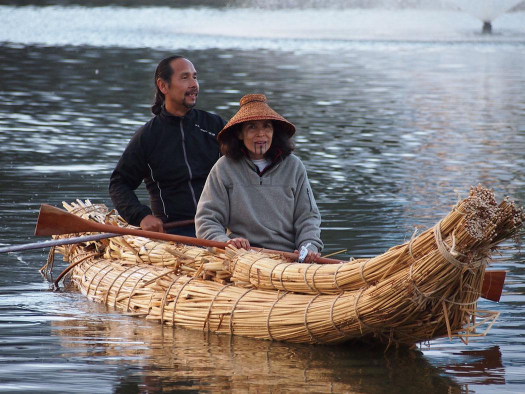 L & Alexis in Tule Boat150dpi.jpg