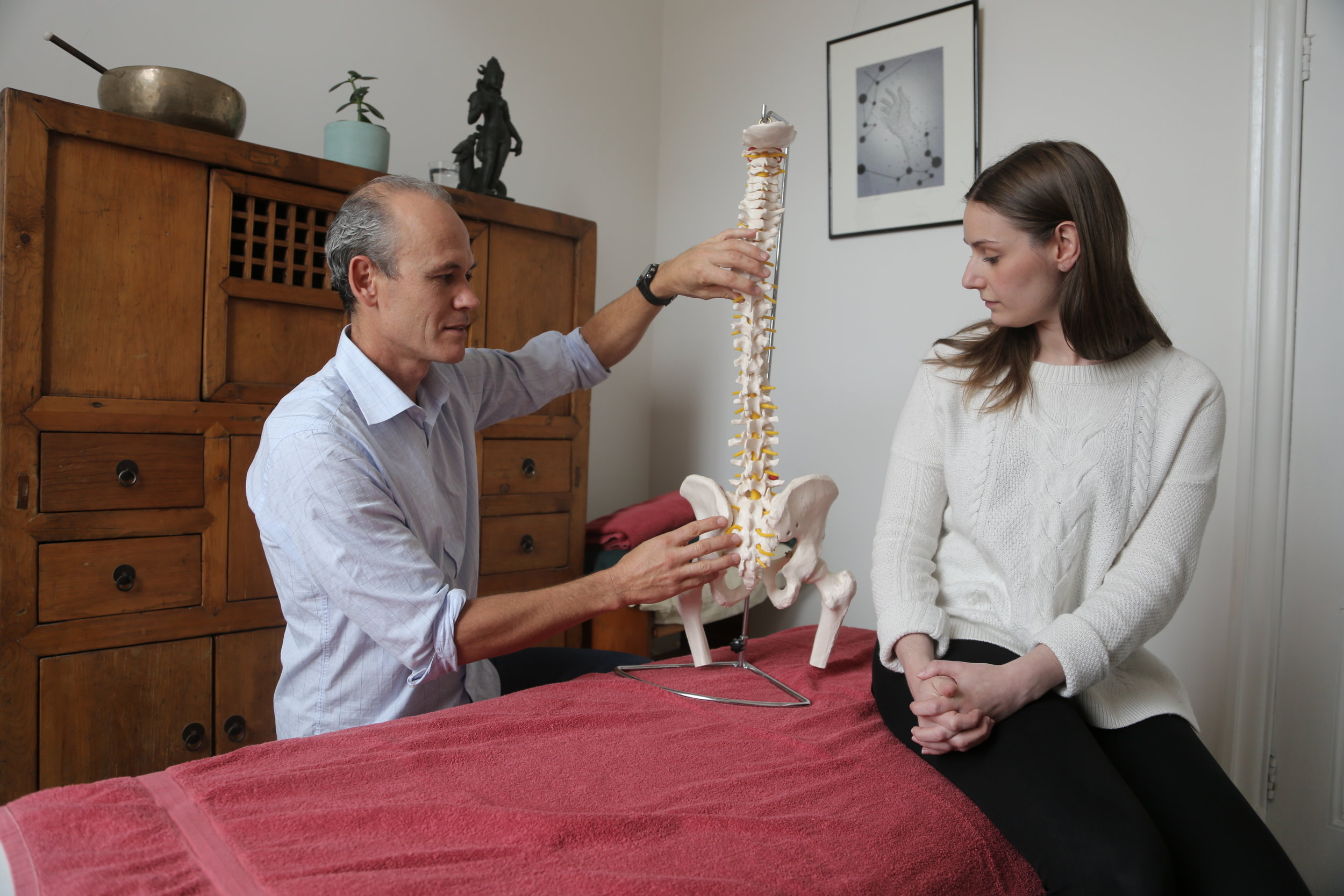 Rolfing at Abbotsford Convent with Aruna Giri