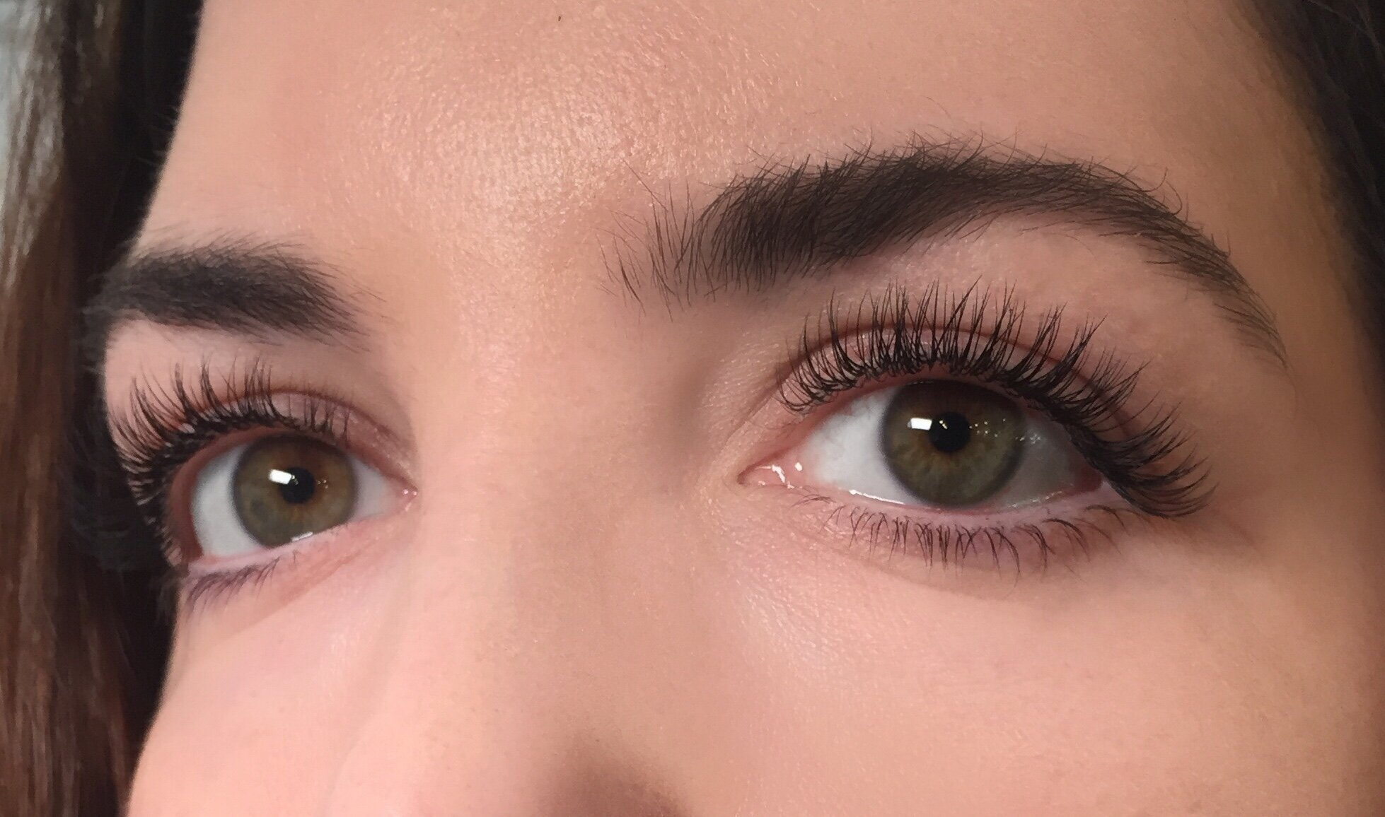 Lash extensions by Hannah