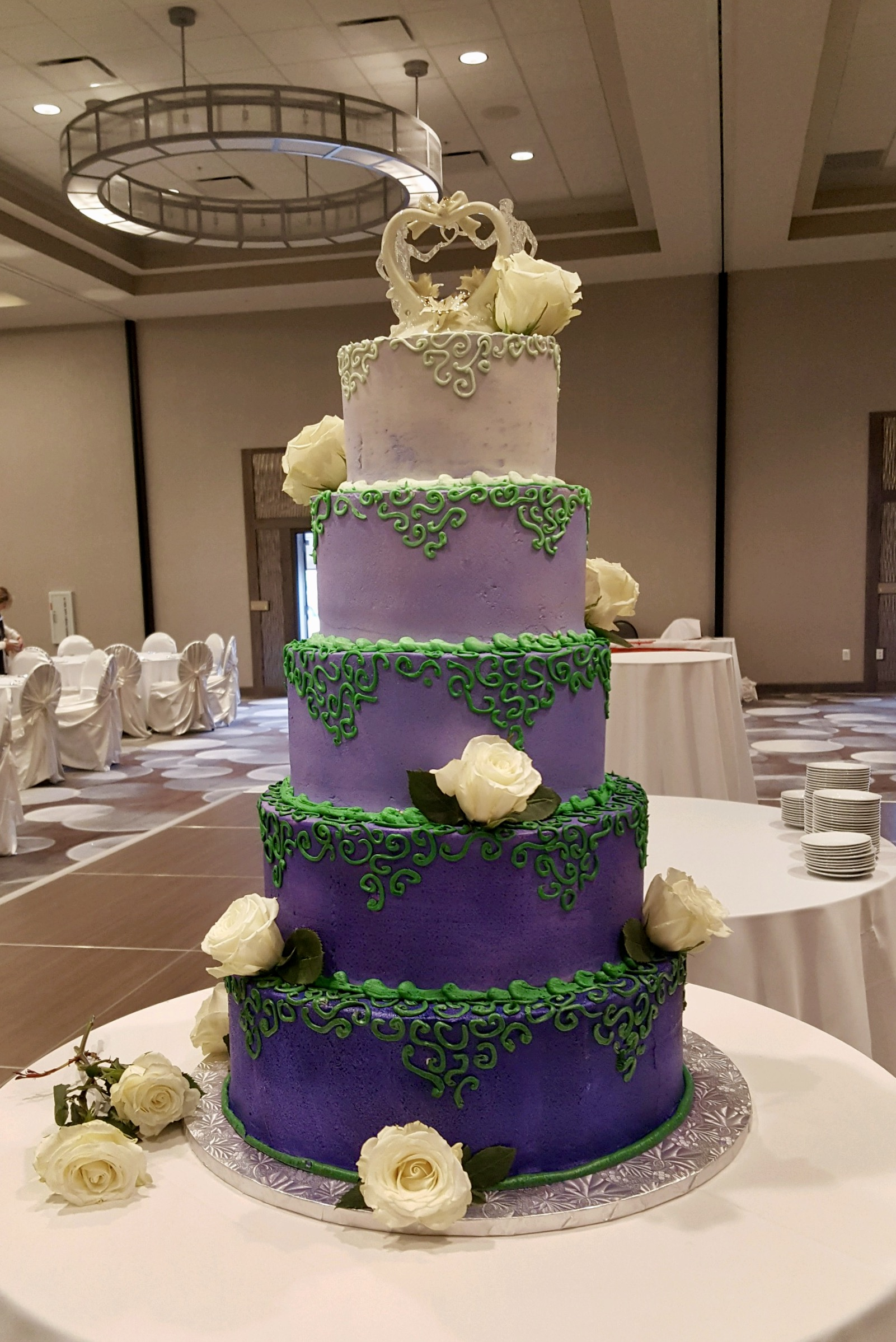 Wedding5tierpurpleandgreen.jpg