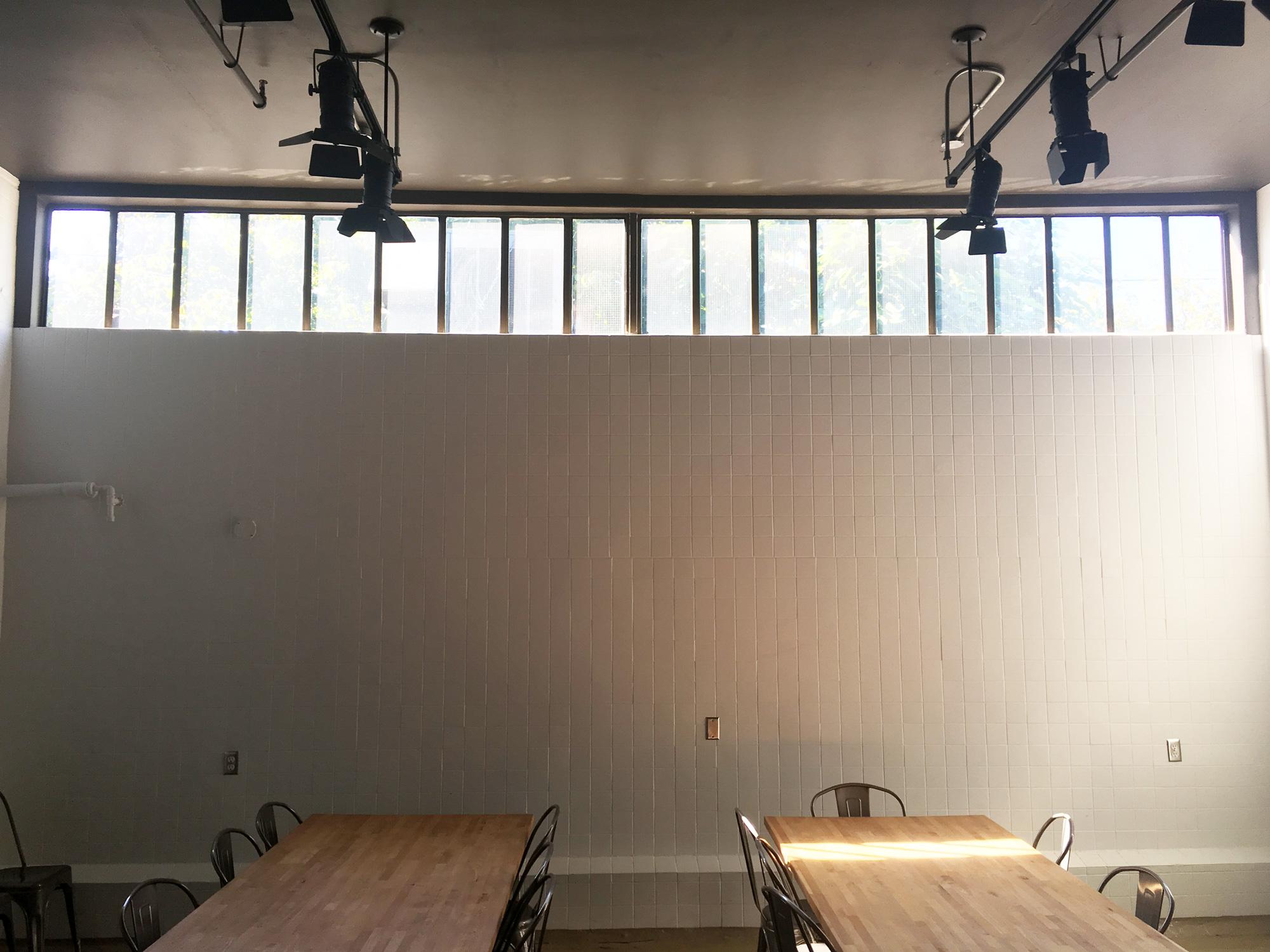 Staff Area, pre-mural