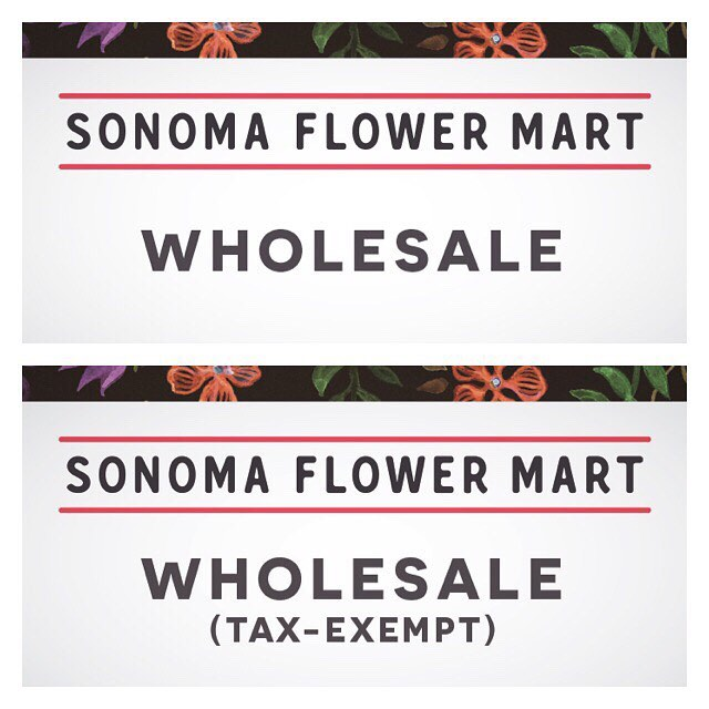 Which badge do you need to shop the mart? Badges will be required for the 2017 season in order to get wholesale pricing. The mart opens May 3rd this year. Visit sonomaflowermart.com for more info on getting set up! #slowflowers #sonomacounty #farmher #flowermarket