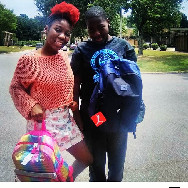 Add in Life is happy to support Visions of the Minds (@caneilampkin) in its vision to provide bookbags to students going back to school. Yes, it's that time again and @addinlife continues to give back 🙌➕ #ChangeYourNumber #ChangeYourLife #addinlife #backtoschool #education