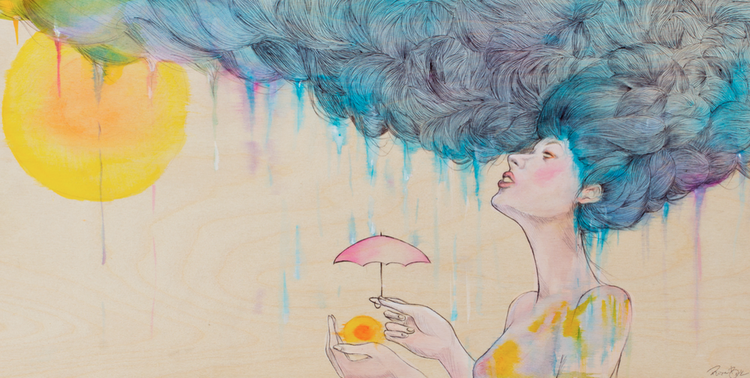 """""""Saving for a Rainy Day"""" By Risa Beck"""