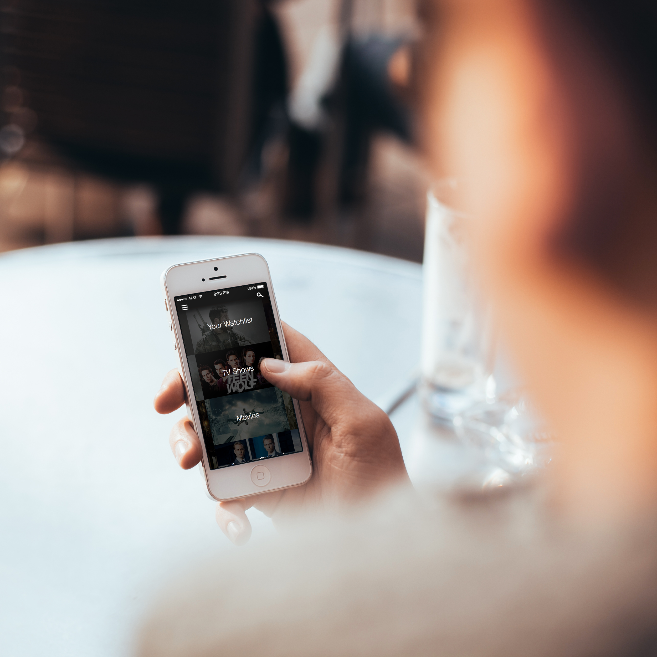 redesigning the video streaming app