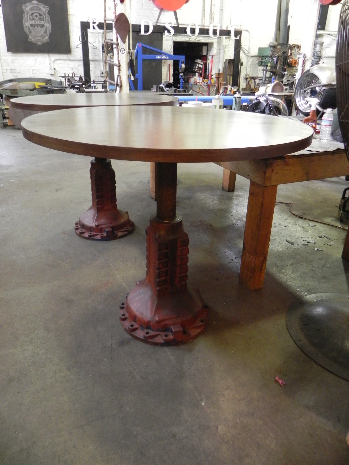 Tractor Transmission Tables for Starbucks