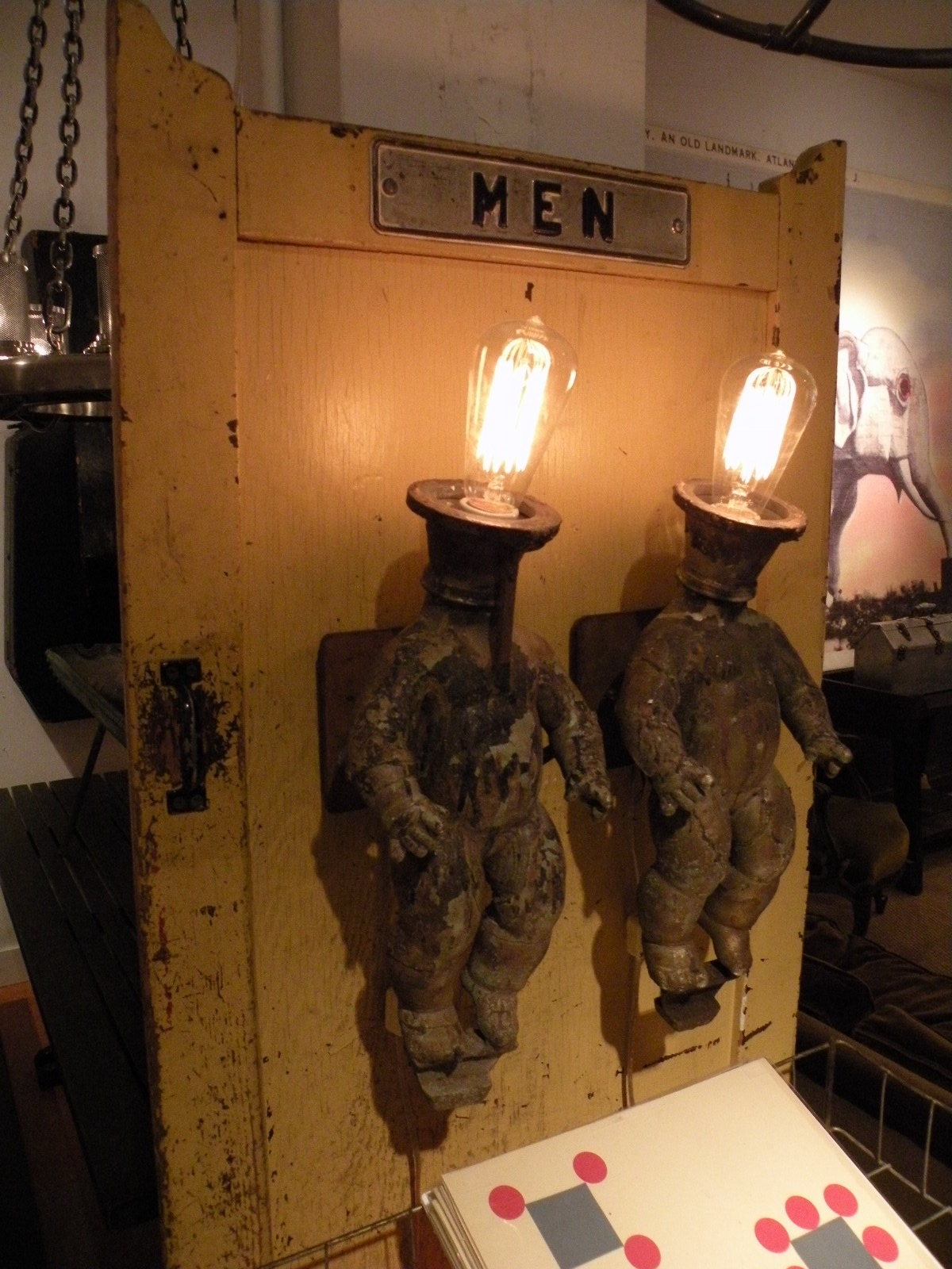 Doll Mold Sconces