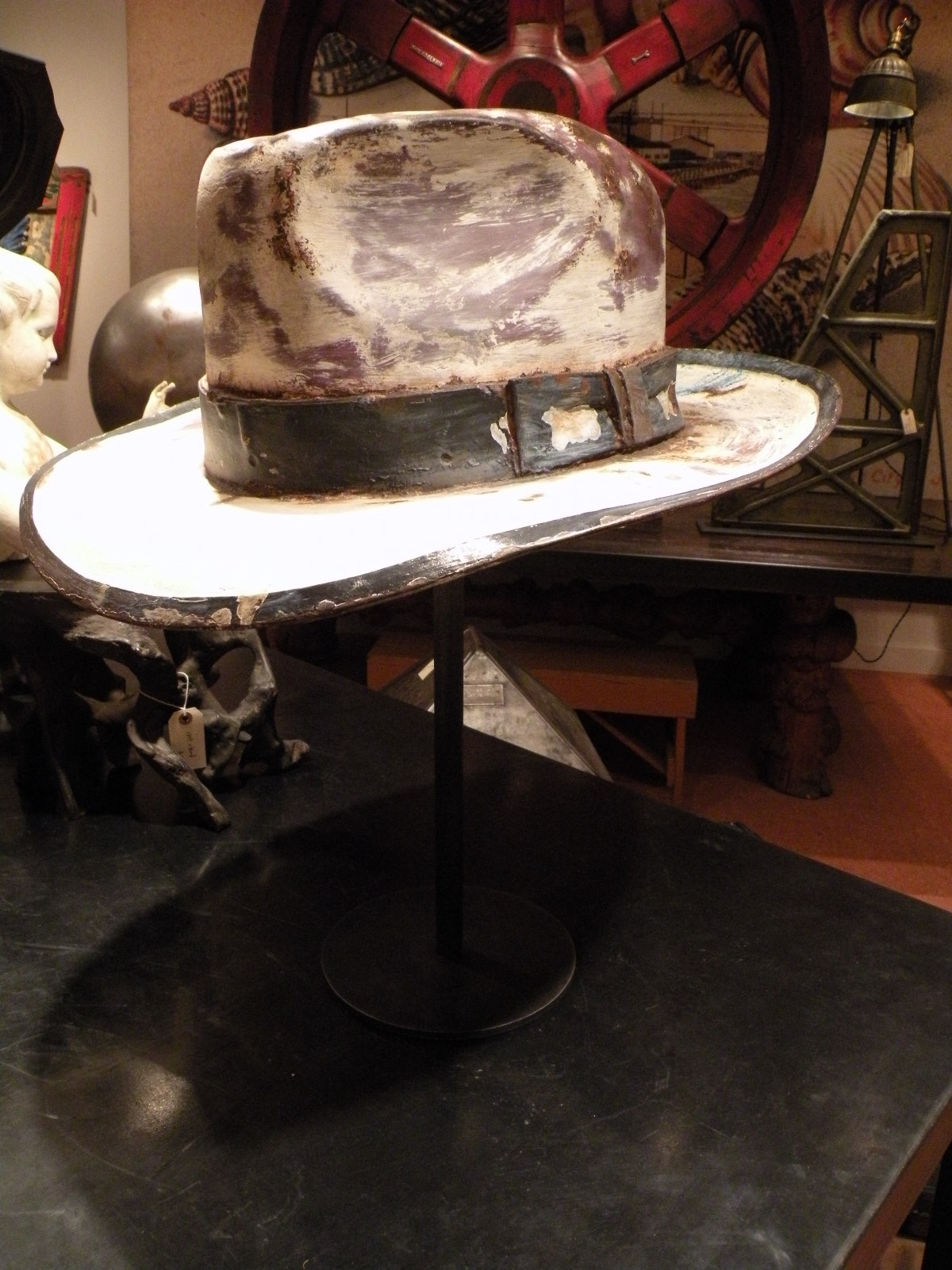 Cast Aluminum Hat For Nordstrom