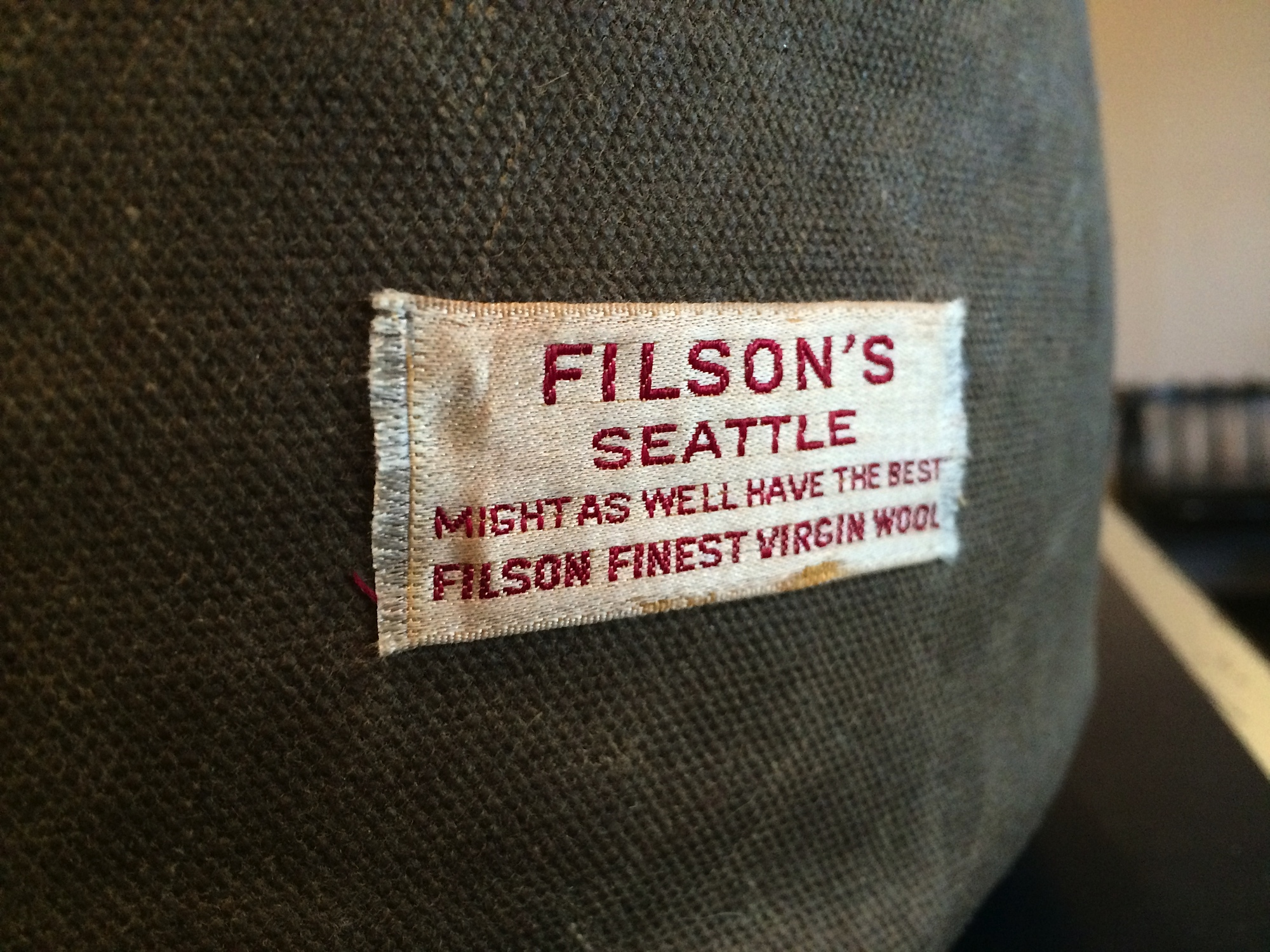 Custom Punching Bag for Filson