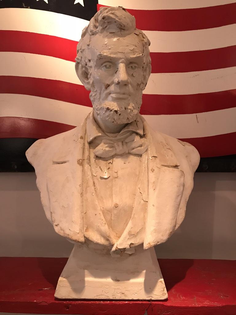 Abraham Lincoln Chalkware Bust