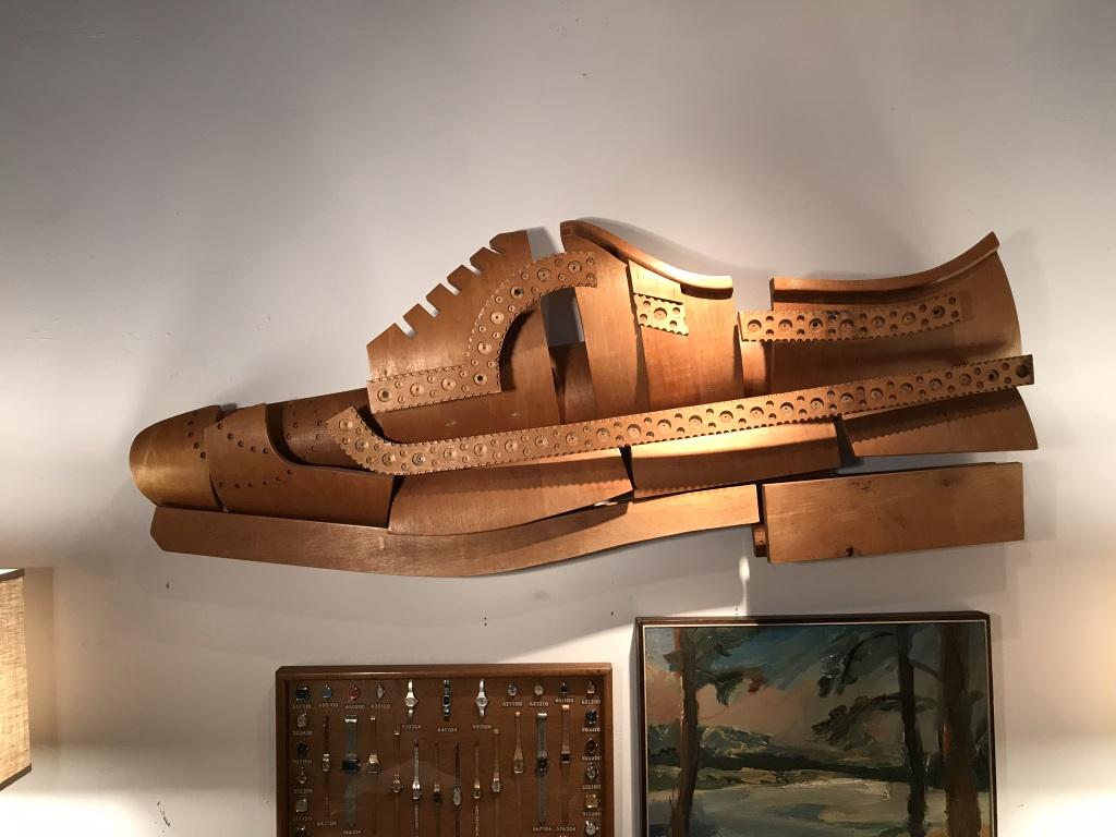 Shoe Sculpture Detail