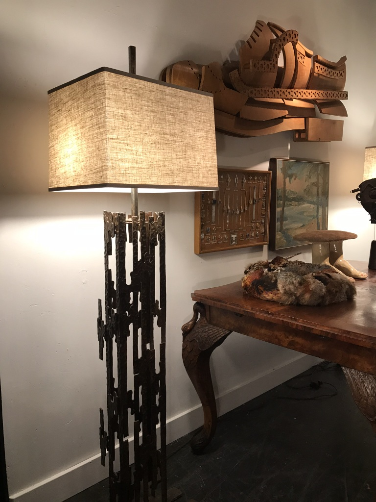 Brutalist Floor Lamp