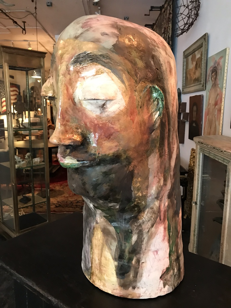 Giant Ceramic Head