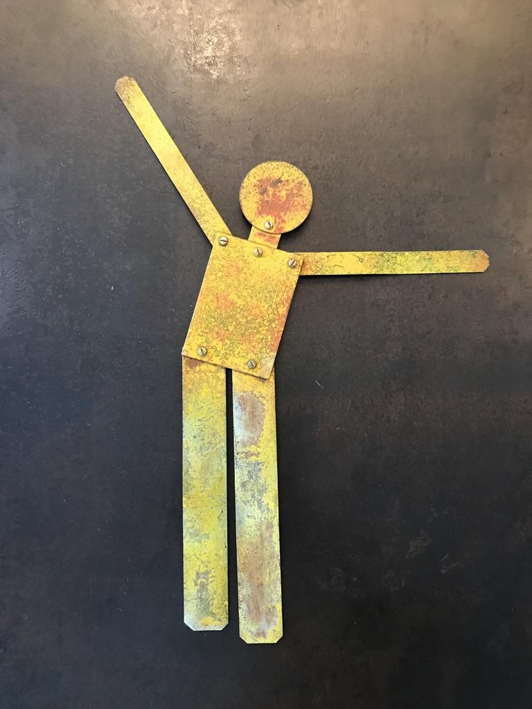 Metal Yellow Man