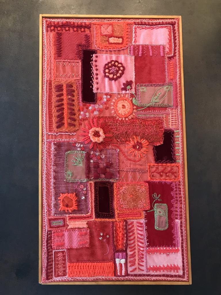 Textile Art Panel