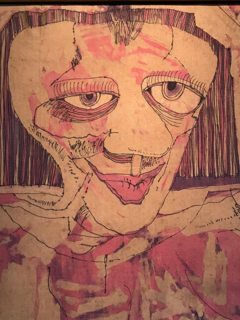 Girl on Silk Detail