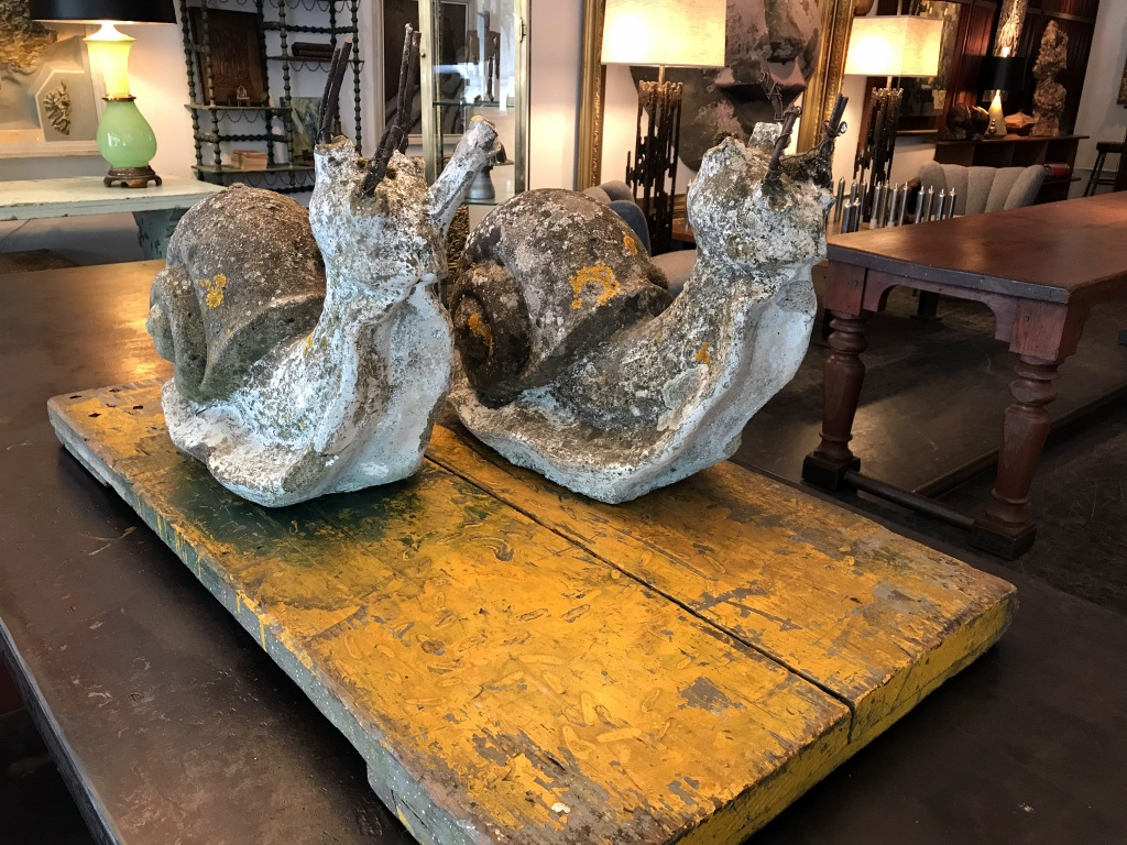 French Concrete Snails