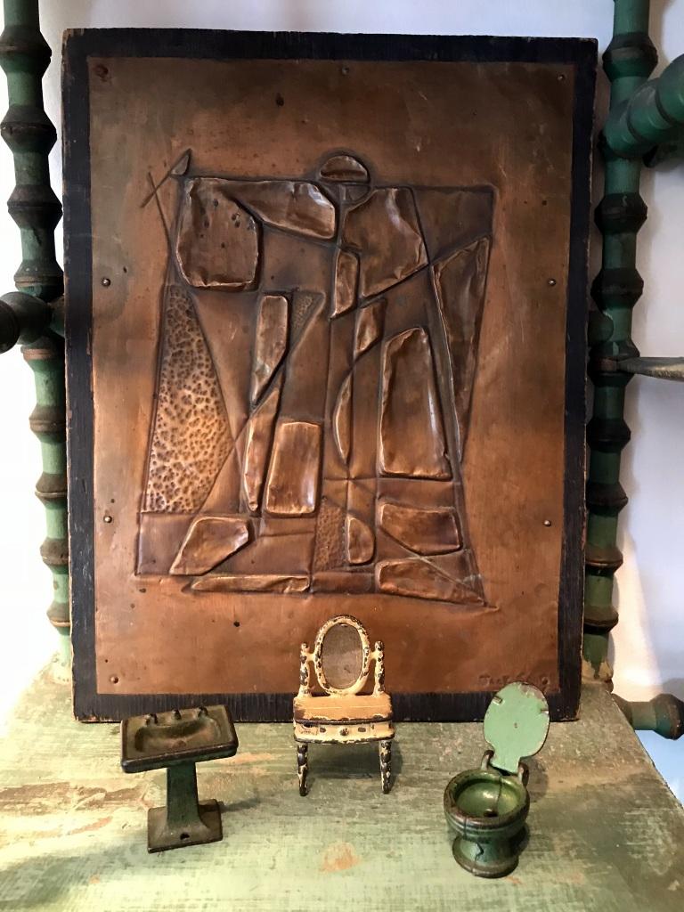 Copper Relief Panel