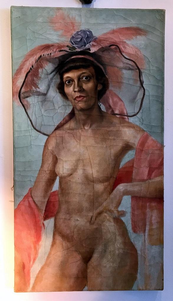 Female Impersonator Painting
