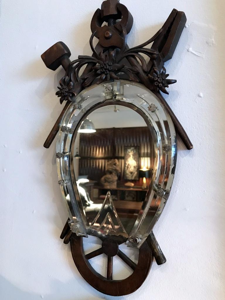 Equestrian Themed Mirror