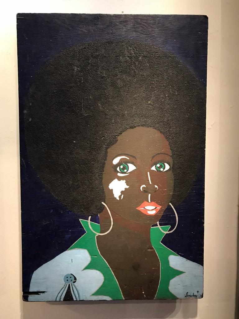 Groovy 70's Portrait