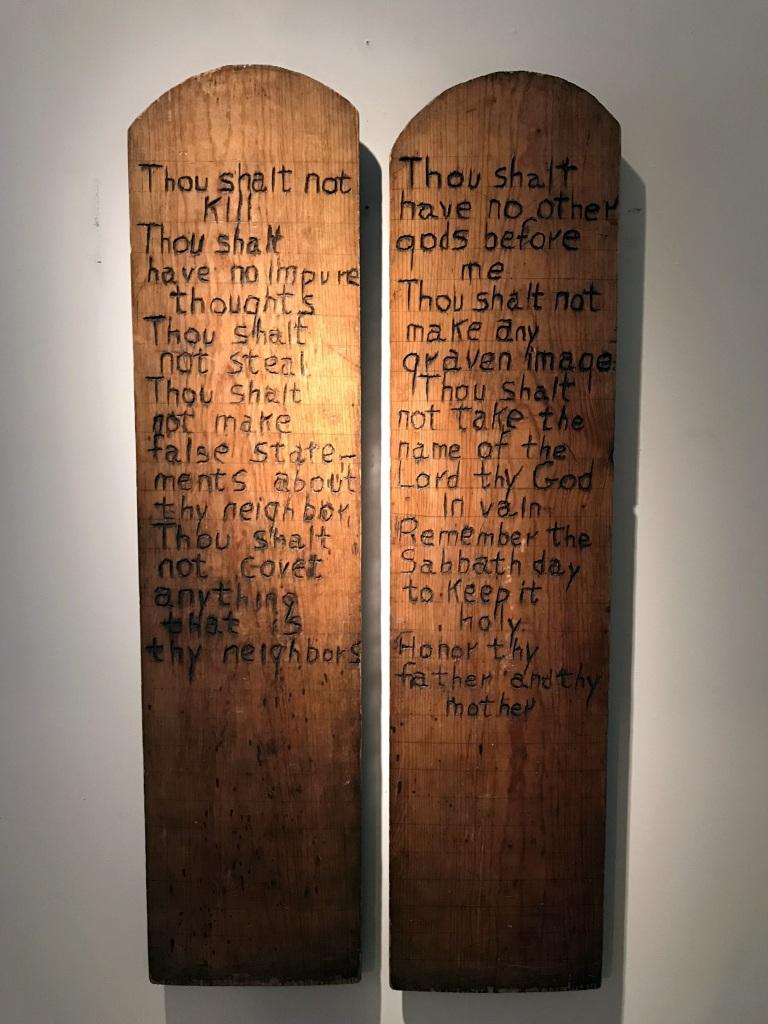 Cub Scout Ten Commandment Panels