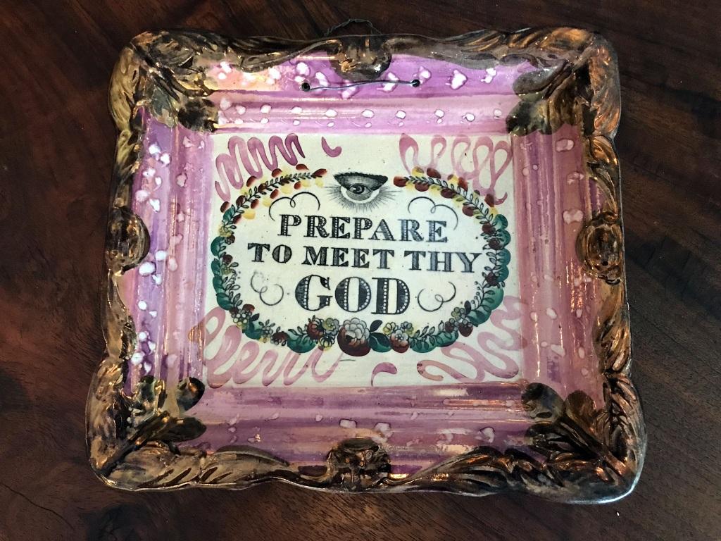 19th Century Transferware Plate
