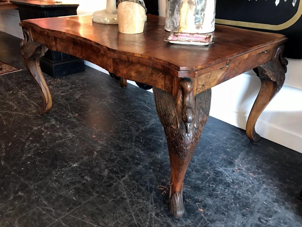 Austrian Swan Leg Table