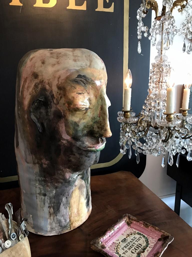 Studio Pottery Head