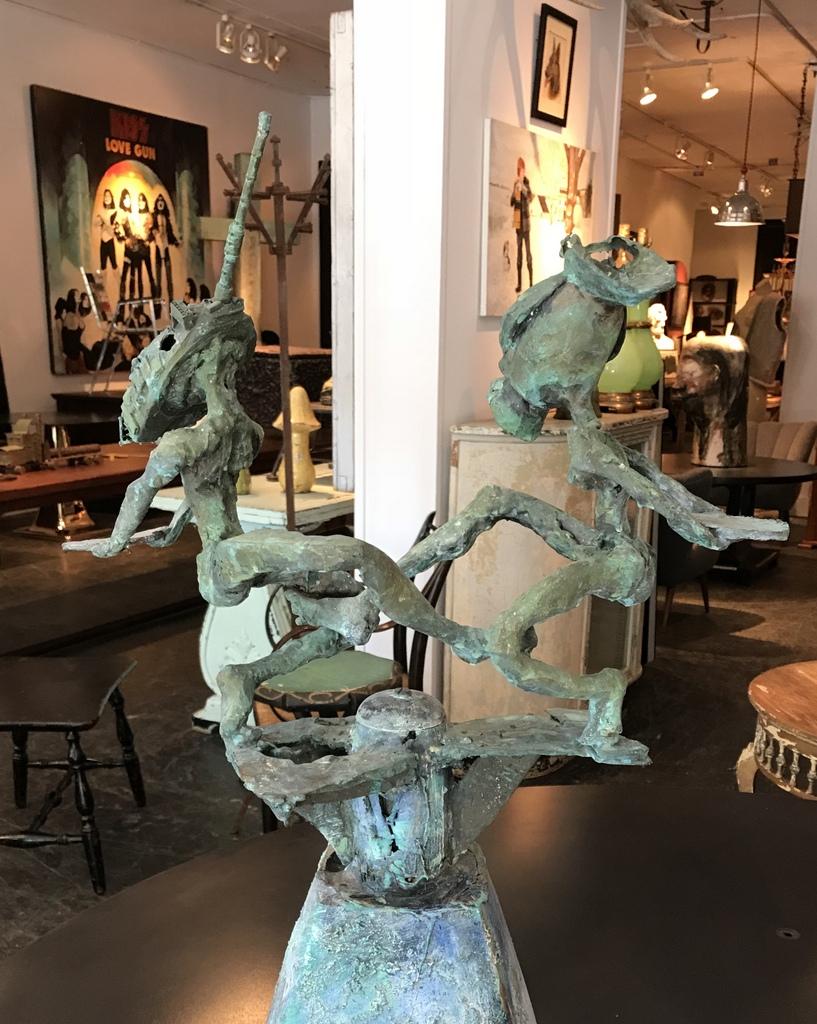 Tank-Head Sculpture