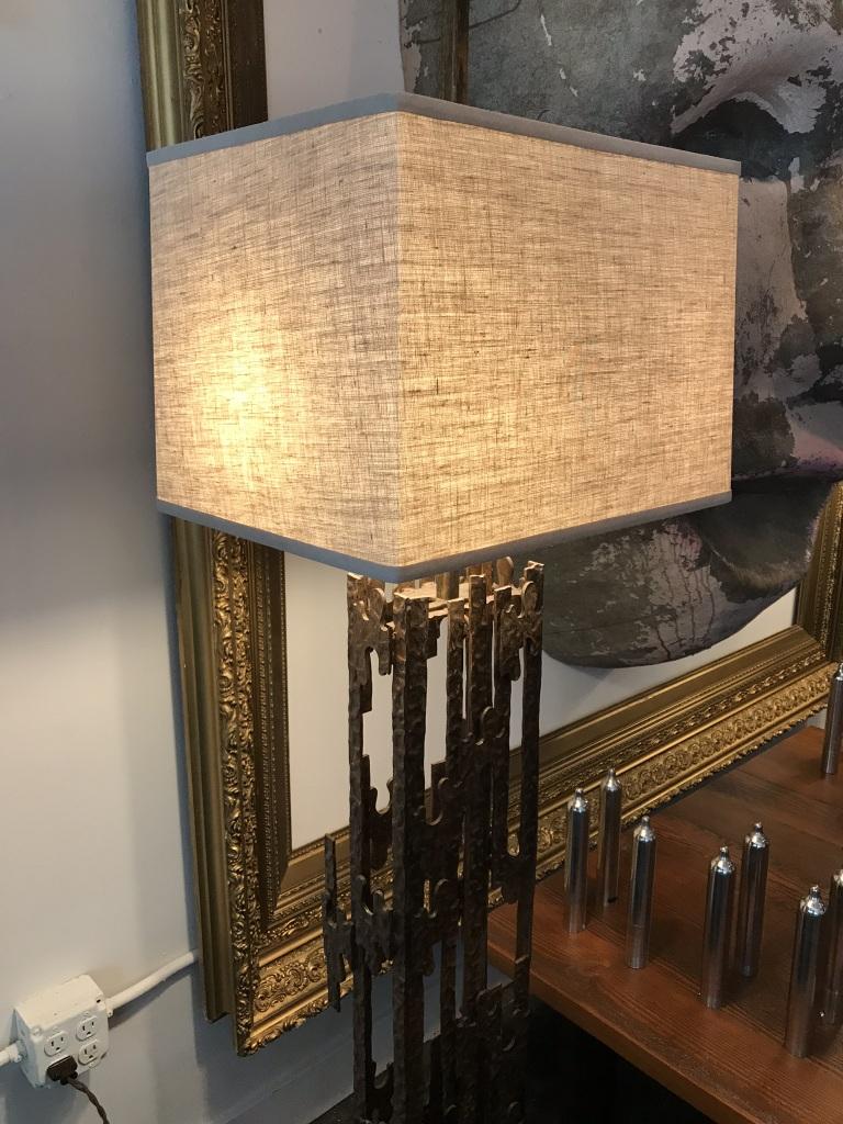 Brutalist Floor Lamp Detail