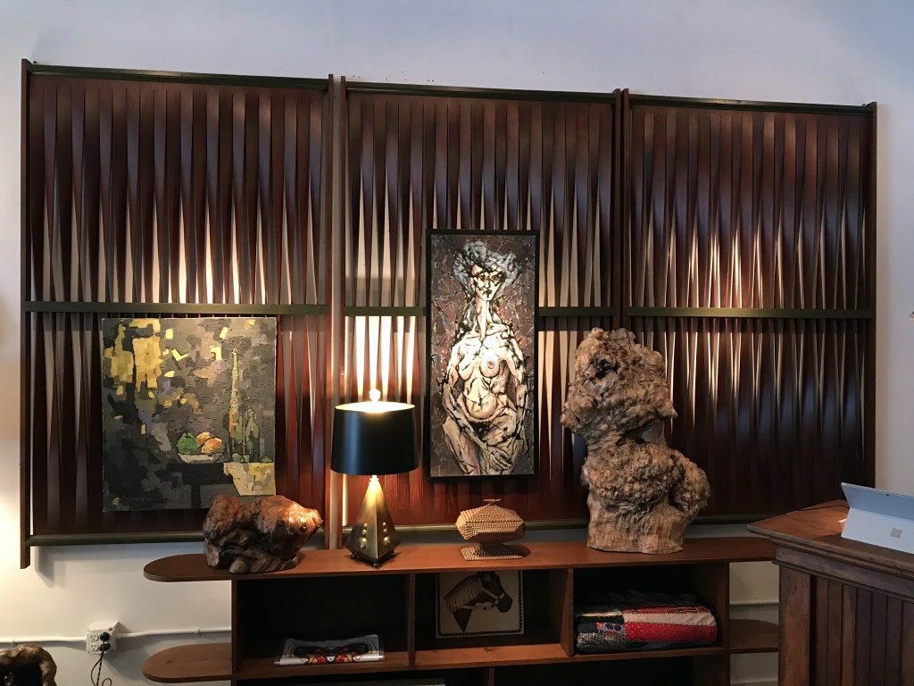 Midcentury Wooden Panels