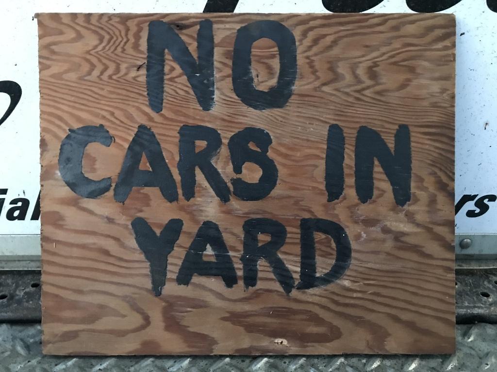 Trashy Neighbor Sign