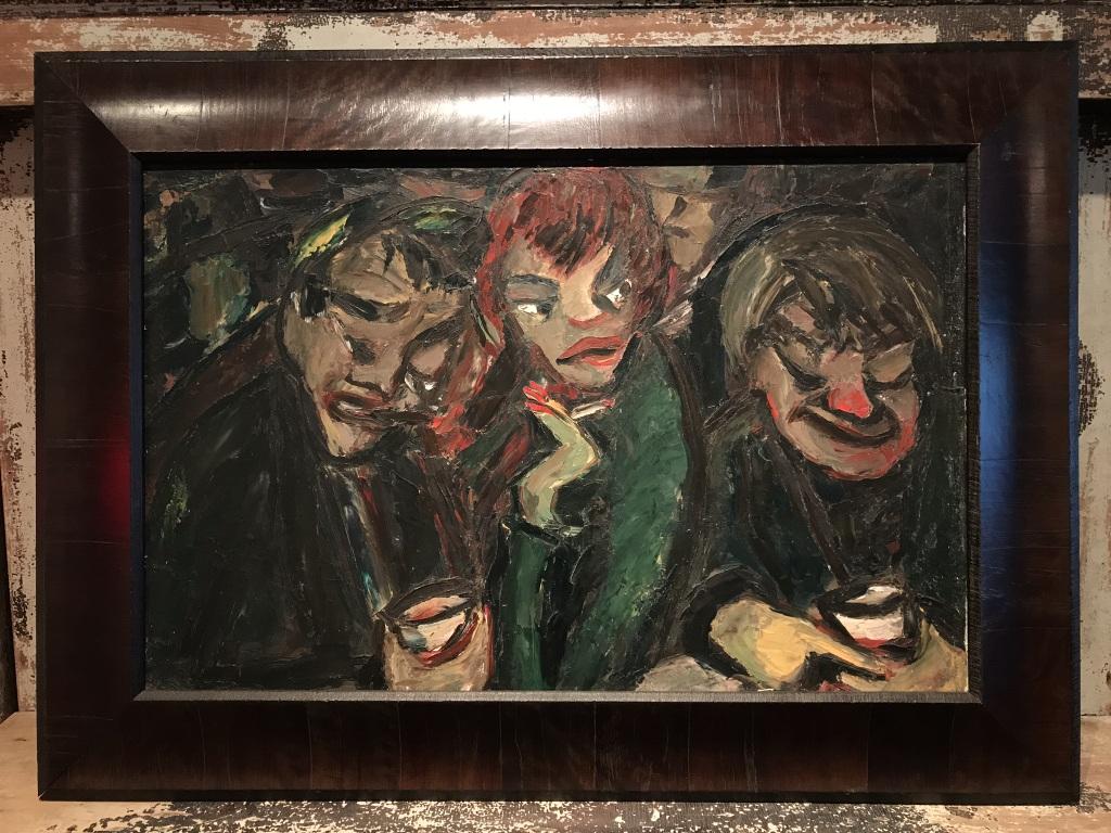 Bar Scene Painting